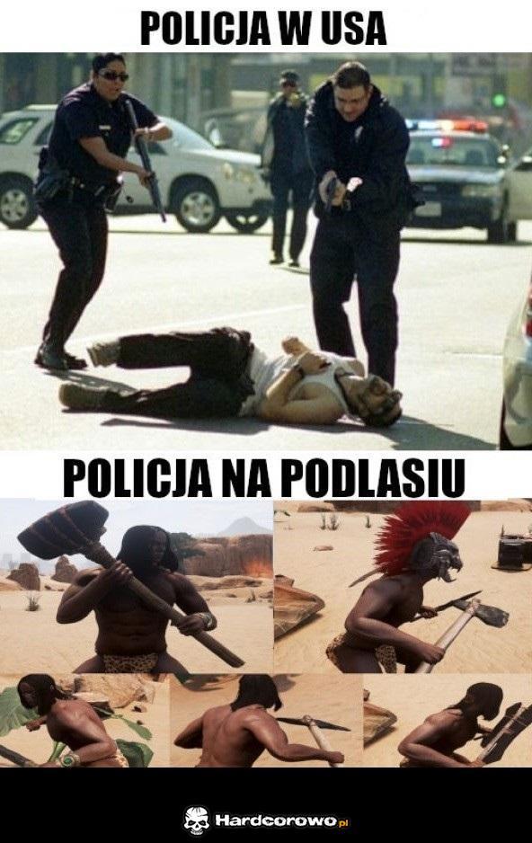 Policja na Podlasiu - 1