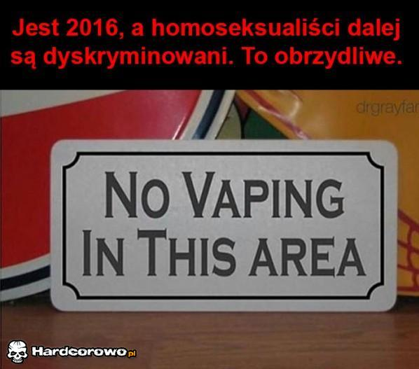 Homoseksualiści nadal dyskryminowani - 1