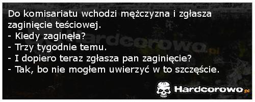 Zaginięcie - 1
