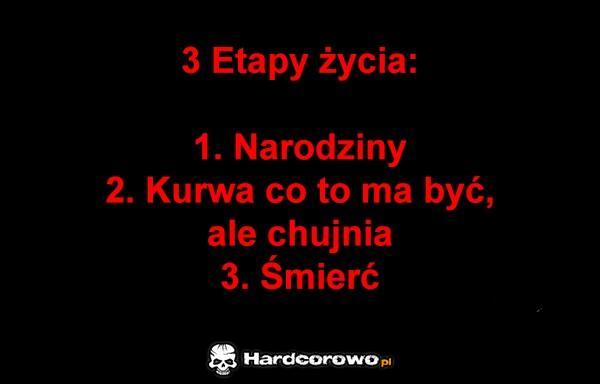 3 etapy życia - 1