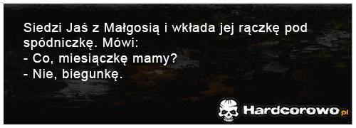 Siedzi Jaś z Małgosią - 1