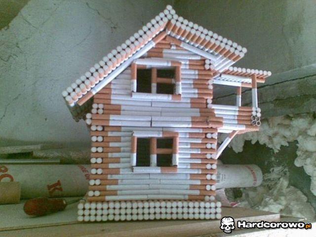 Domek z bali - 1