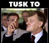 Tusk to KURWA!