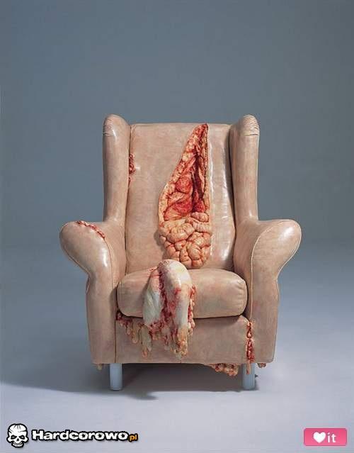 Hardcorowy fotel - 1