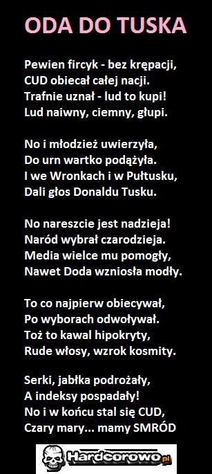 Oda do Tuska - 1
