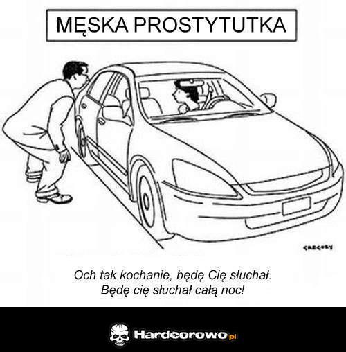 Męska prostytutka - 1