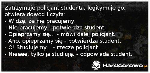 Policjant i student - 1