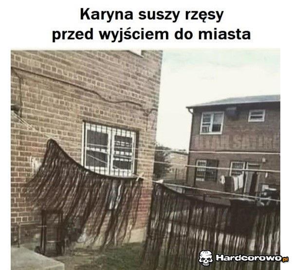 Rzęsy Karyny - 1
