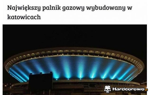 Największy palnik gazowy wybudowany w Katowicach - 1