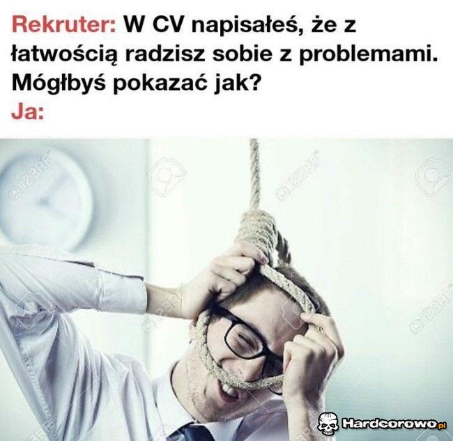 Radzenie sobie z problemami - 1