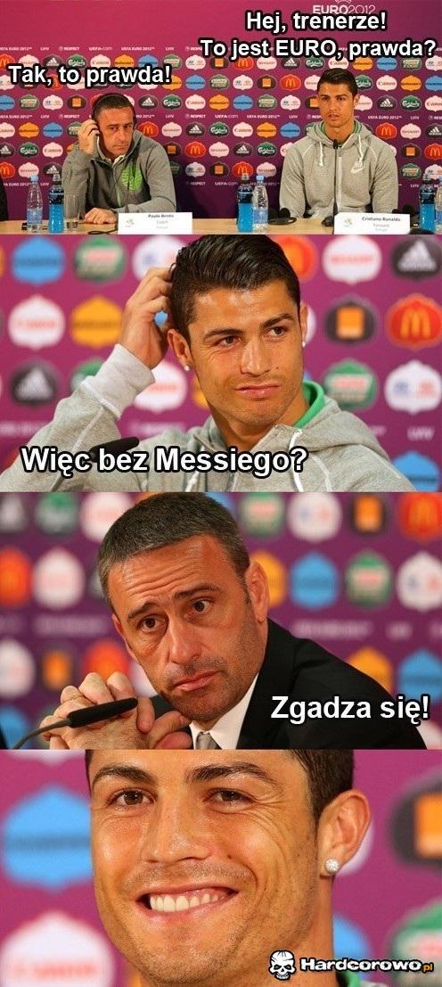 Zadowolony Ronaldo - 1