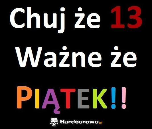 Piątek - 1