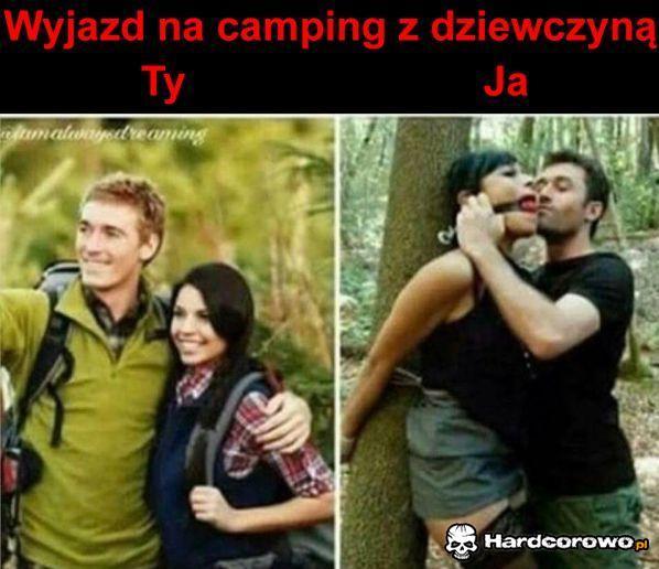 Wyjazd na camping z dziewczyną  - 1