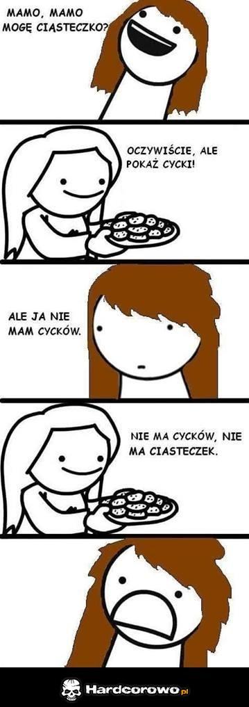 Mogę ciasteczko? - 1