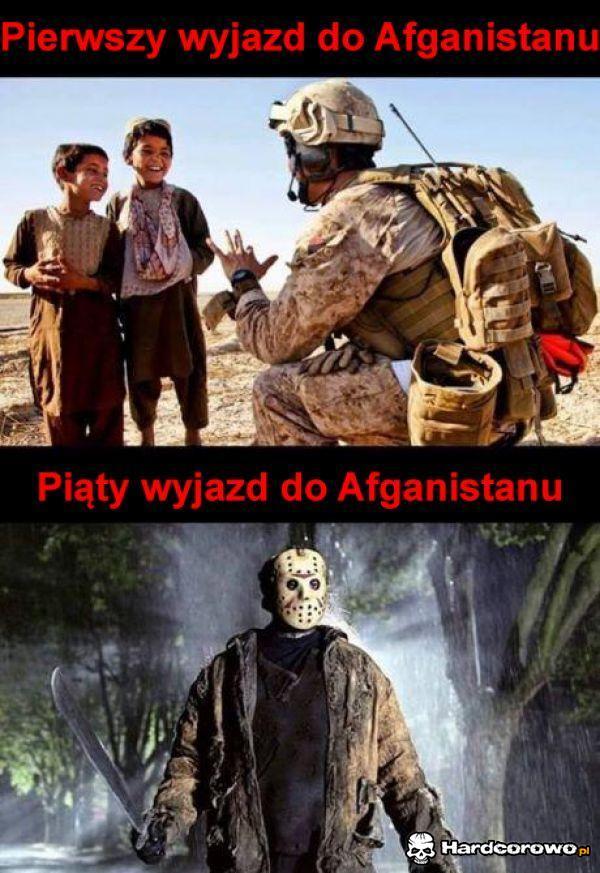 Pierwszy wyjazd do Afganistanu - 1