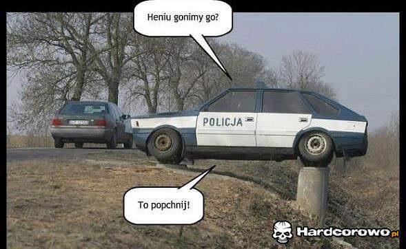 Polska policja zawsze na propsie - 1