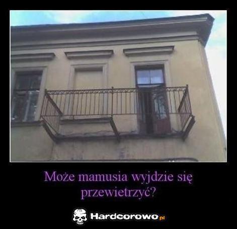 Dziurawy balkon  - 1