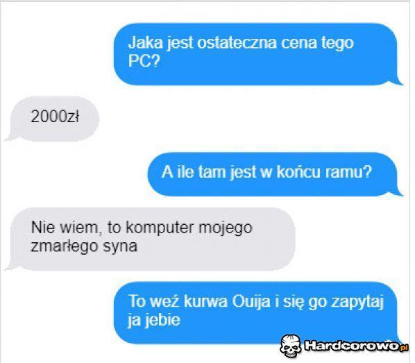 Sprzedaż komputera - 1