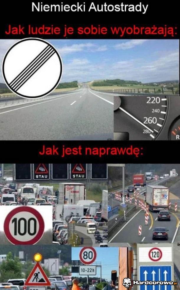 Niemieckie autostrady - 1