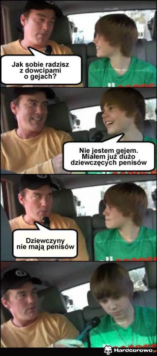 Bieber - mistrz ciętej riposty - 1