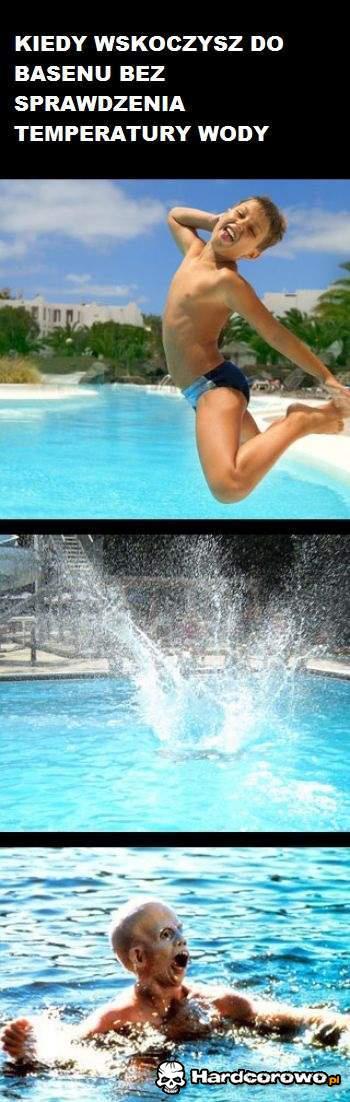 Kiedy wskoczysz do basenu  - 1