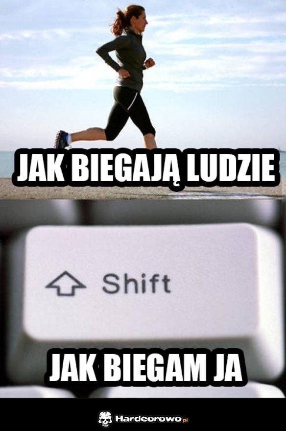 Jak biegam - 1