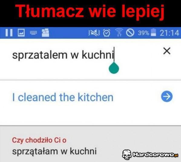 Tłumacz wie lepiej - 1