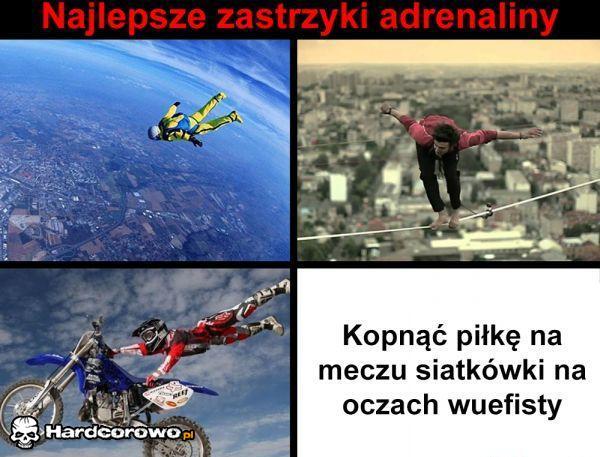 Najlepsze zastrzyki adrenaliny - 1