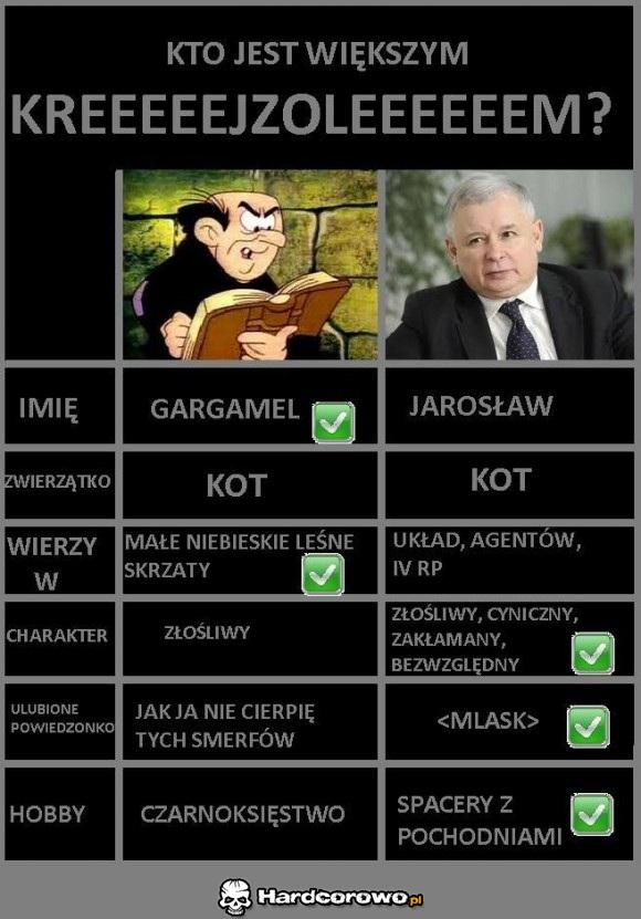Gargamel VS Jarosław - 1
