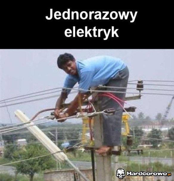 Jednarozowy elektryk - 1