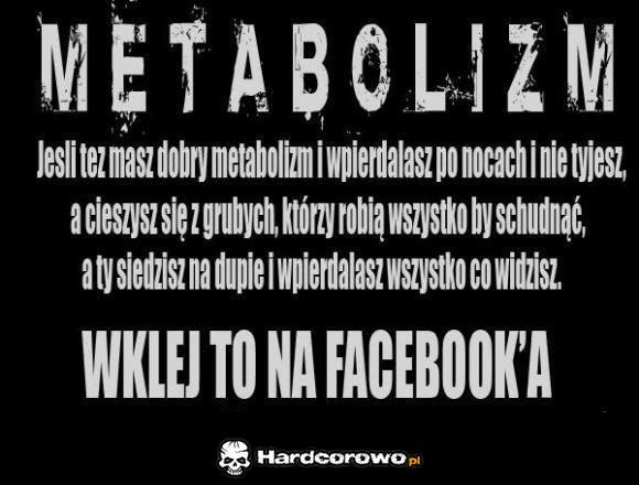 Metabolizm - 1