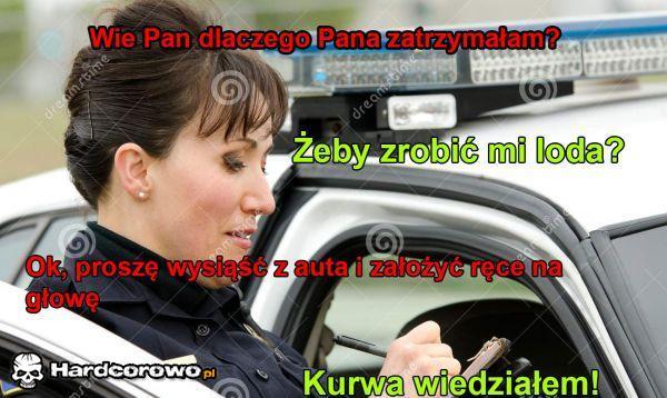 Kontrola drogowa - 1