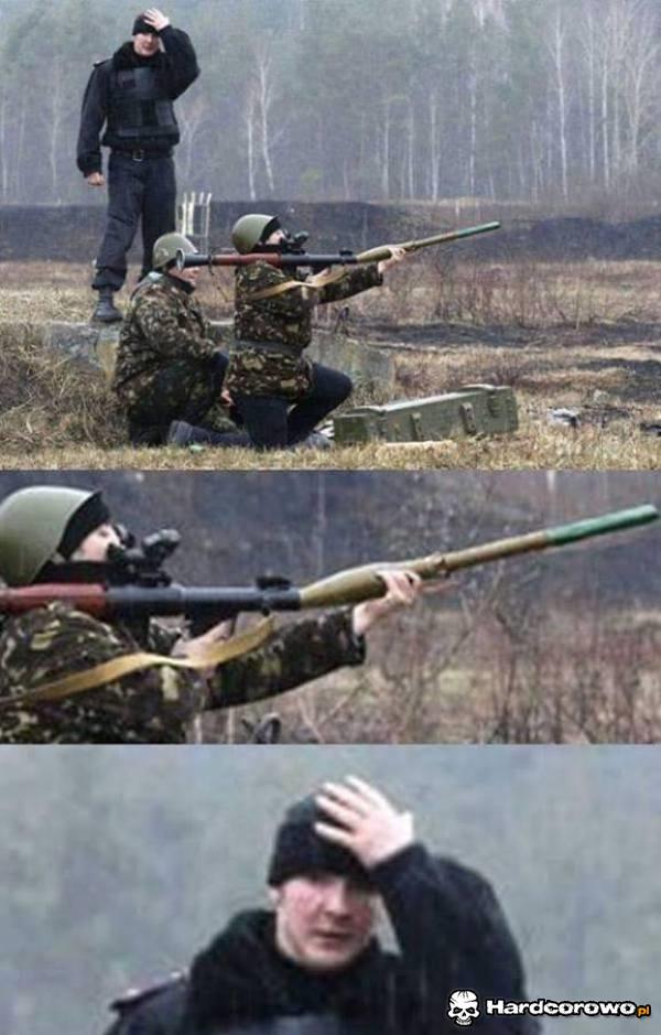 Jak to Rosja to wojna nie straszna - 1