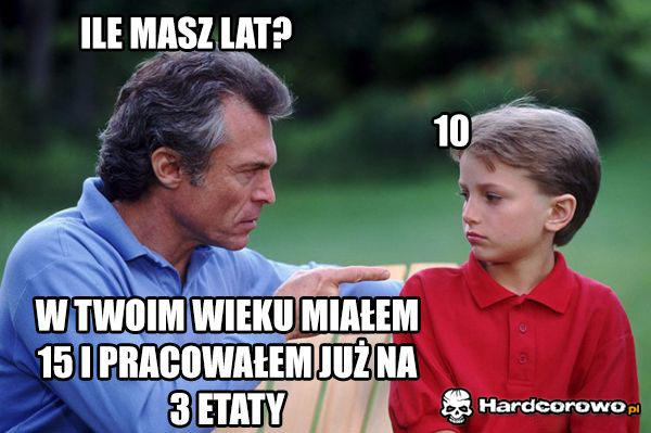 Ile masz lat? - 1