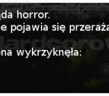 Oglądanie horroru