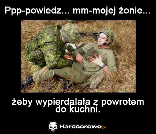 Wiadomość od umierającego żołnierza - 1