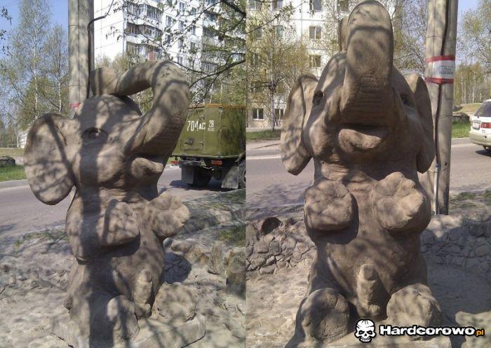 Słonik i jego trąbka - 1