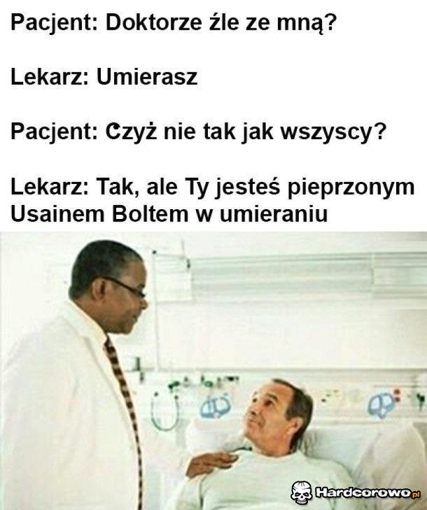 Ziomek umiera - 1