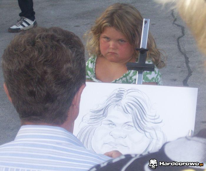 Nie każdy może mieć fajną karykaturę - 1