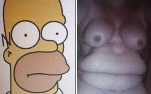 Homer Simpson istnieje naprawdę - 1