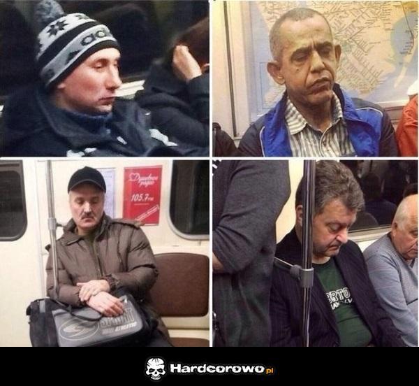 Tymczasem w ruskim metrze - 1