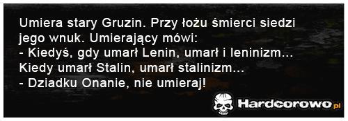 Umiera stary Gruzin - 1