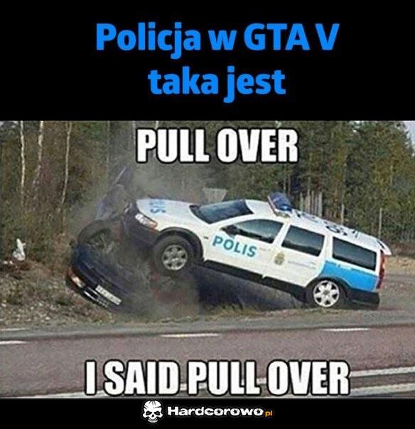 Policja w GTA - 1