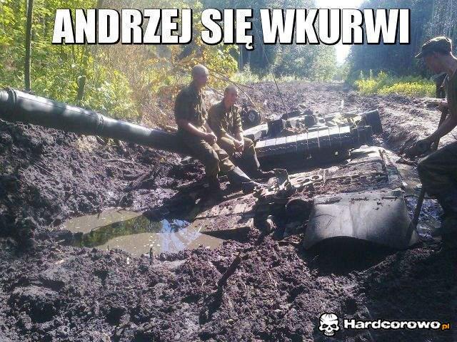 Andrzej się wkurwi - 1