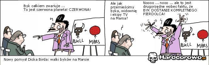 Walki byków na Marsie - 1
