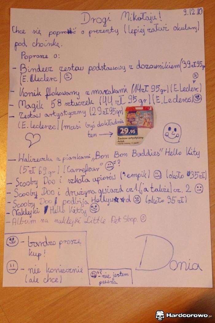 List do św. Mikołaja - 1