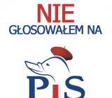 Nie głosowałem na PiS!