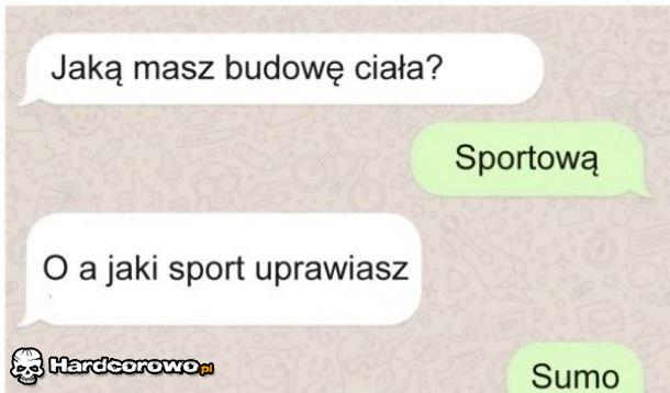 Sportowa budowa ciała - 1