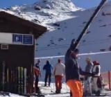 Zdejmowanie nart - lvl professional