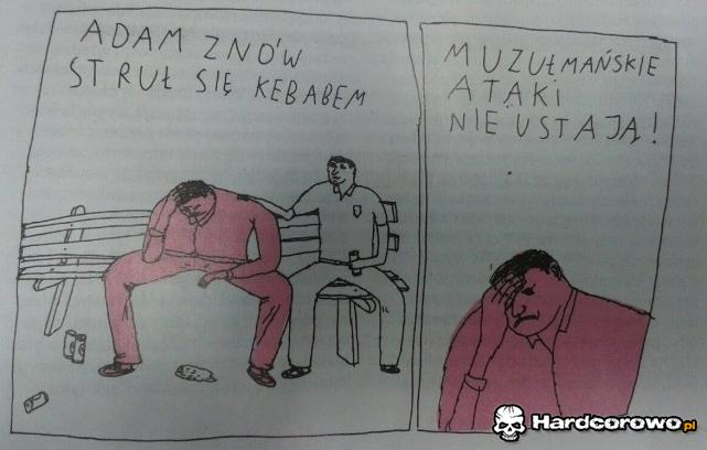 Muzułmańskie ataki - 1